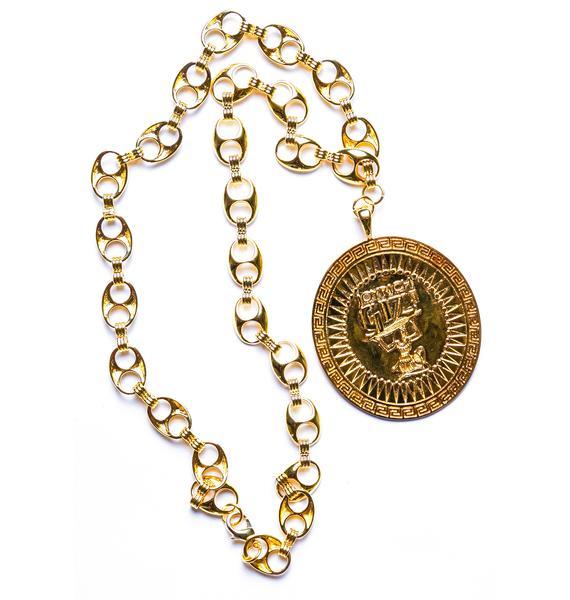 Joyrich x Giza Shield Necklace