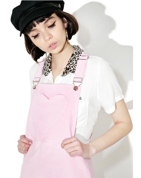 Lulu Pinafore Dress