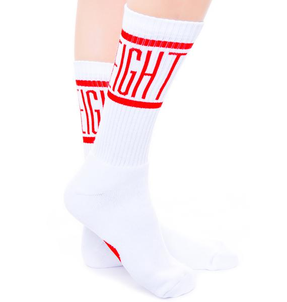 Rebel8 Degenerate Socks