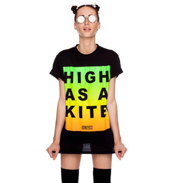 Dimepiece High As A Kite Crew Neck Tee