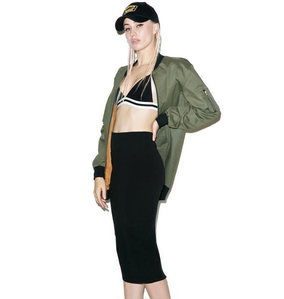 Bad Rep Midi Skirt