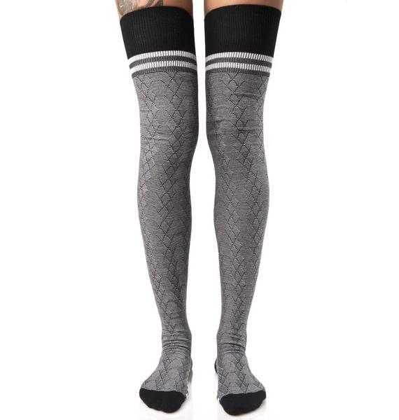 Stance Fine Line Thigh-High Socks