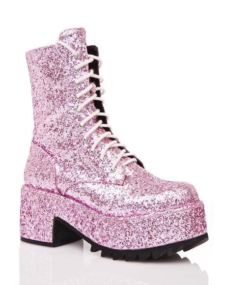 Twinkle Glitter Boots