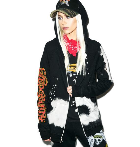 Lauren Moshi Aerosmith Zip-Up Hoodie