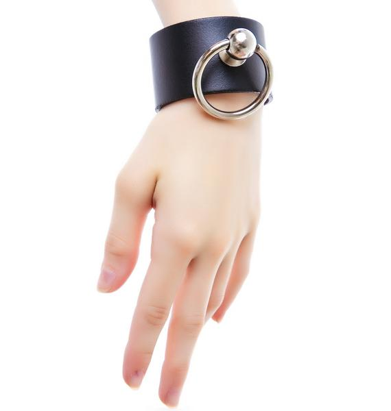Club Exx Saddle Stud O Ring Bracelet