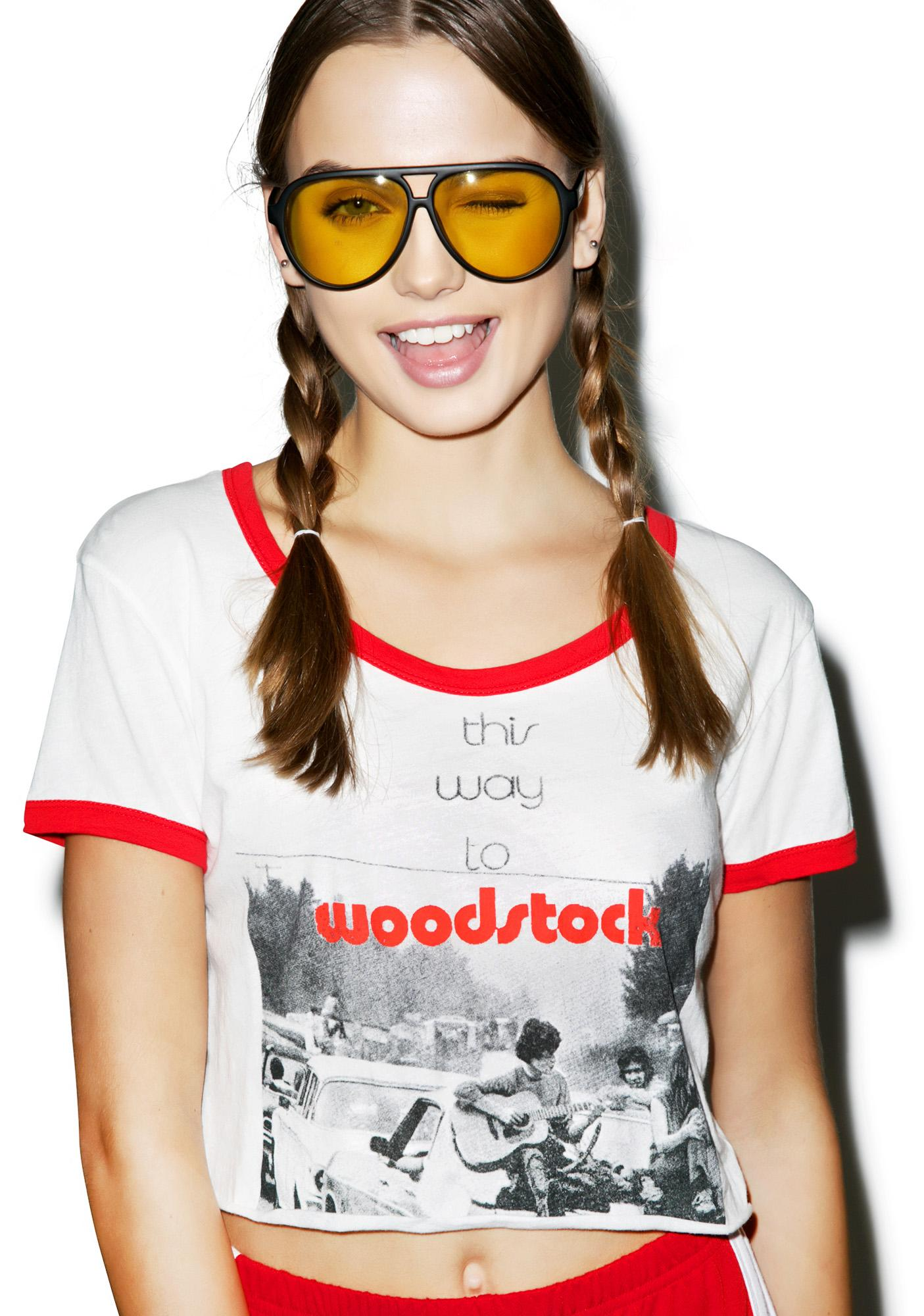 Somedays Lovin This Way To Woodstock Tee
