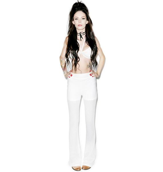 Somedays Lovin L'Enfant Terrible Lace Flared Pants