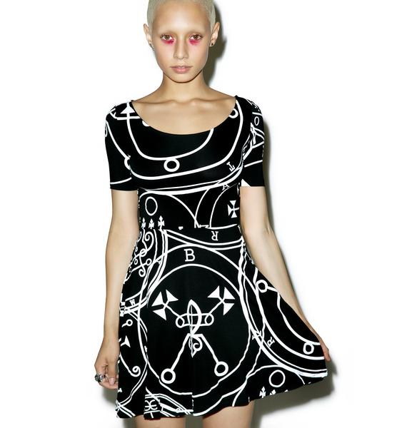 Killstar Sigil Skater Dress