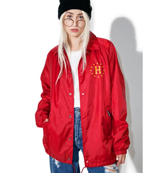 HUF Recruit Coaches Jacket