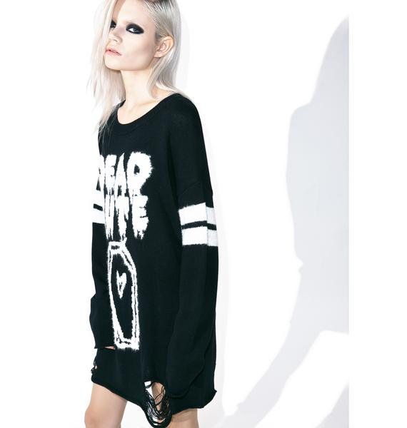 Iron Fist Dead Cute Torn Sweater