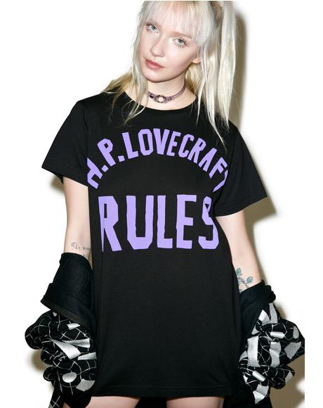 Lovecraft Rules Tee