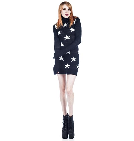 Wildfox Couture Astronauts Wife Liv Dress