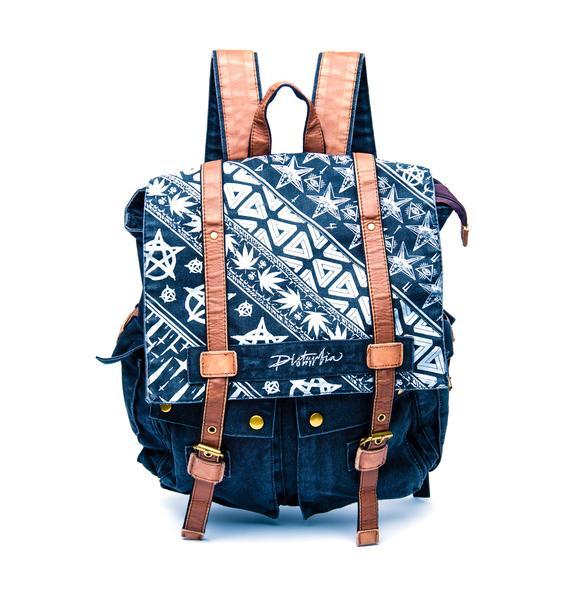 Disturbia Symbols Backpack