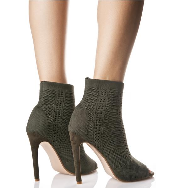 Myth Ankle Sock Boots