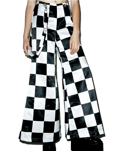 Prankster Checkerboard Suspender Bells
