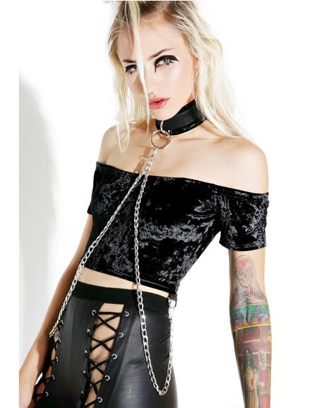 Viper Bondage Crop Top