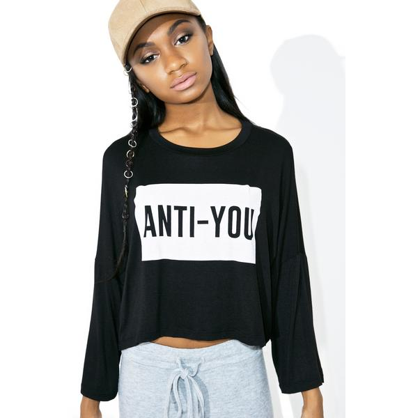 Anti-You Long Sleeve Tee