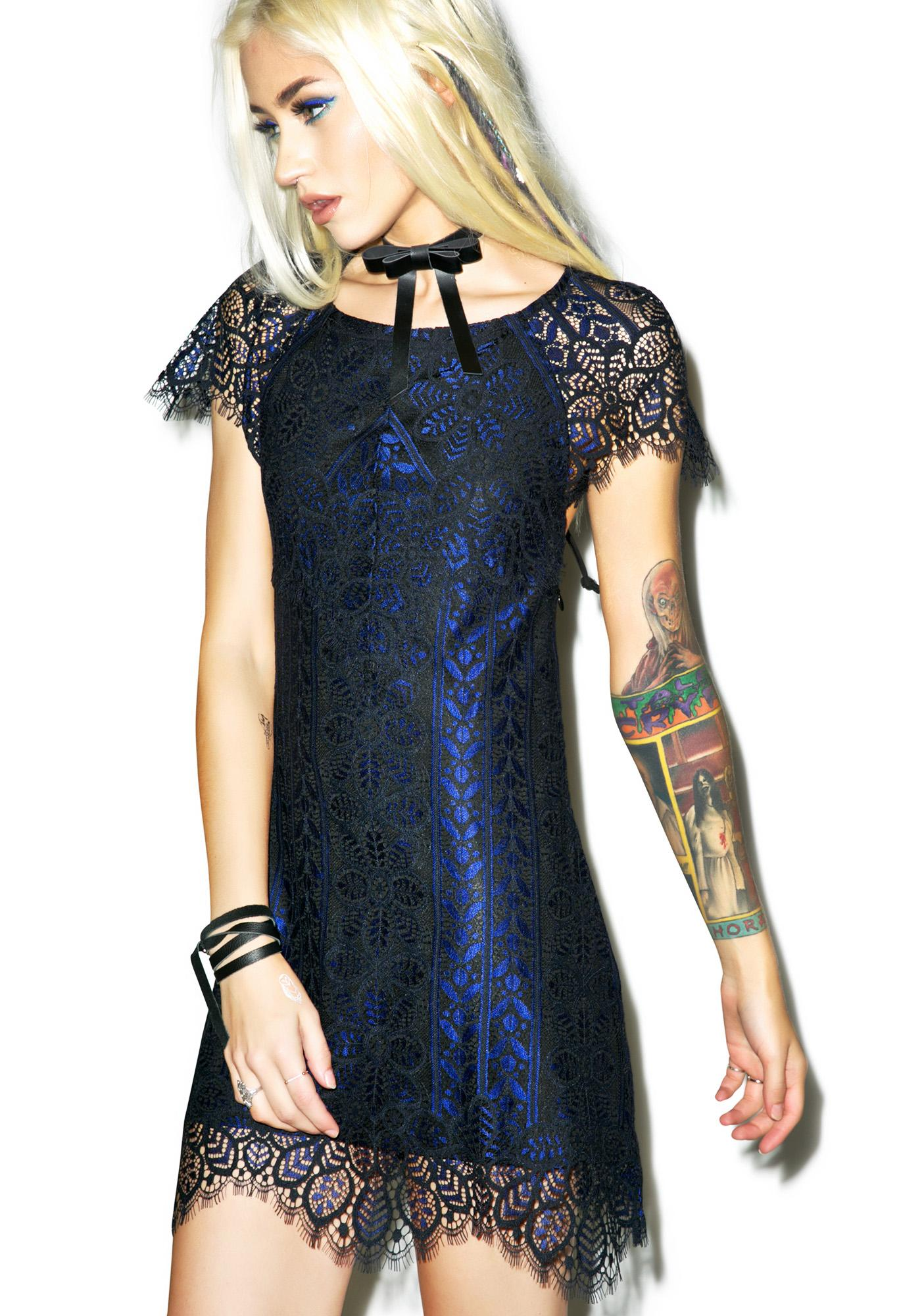For Love & Lemons Lyla Mini Dress