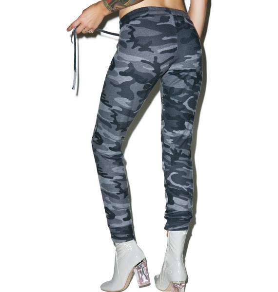 Lauren Moshi Camo Kizzy Classic Sweatpants
