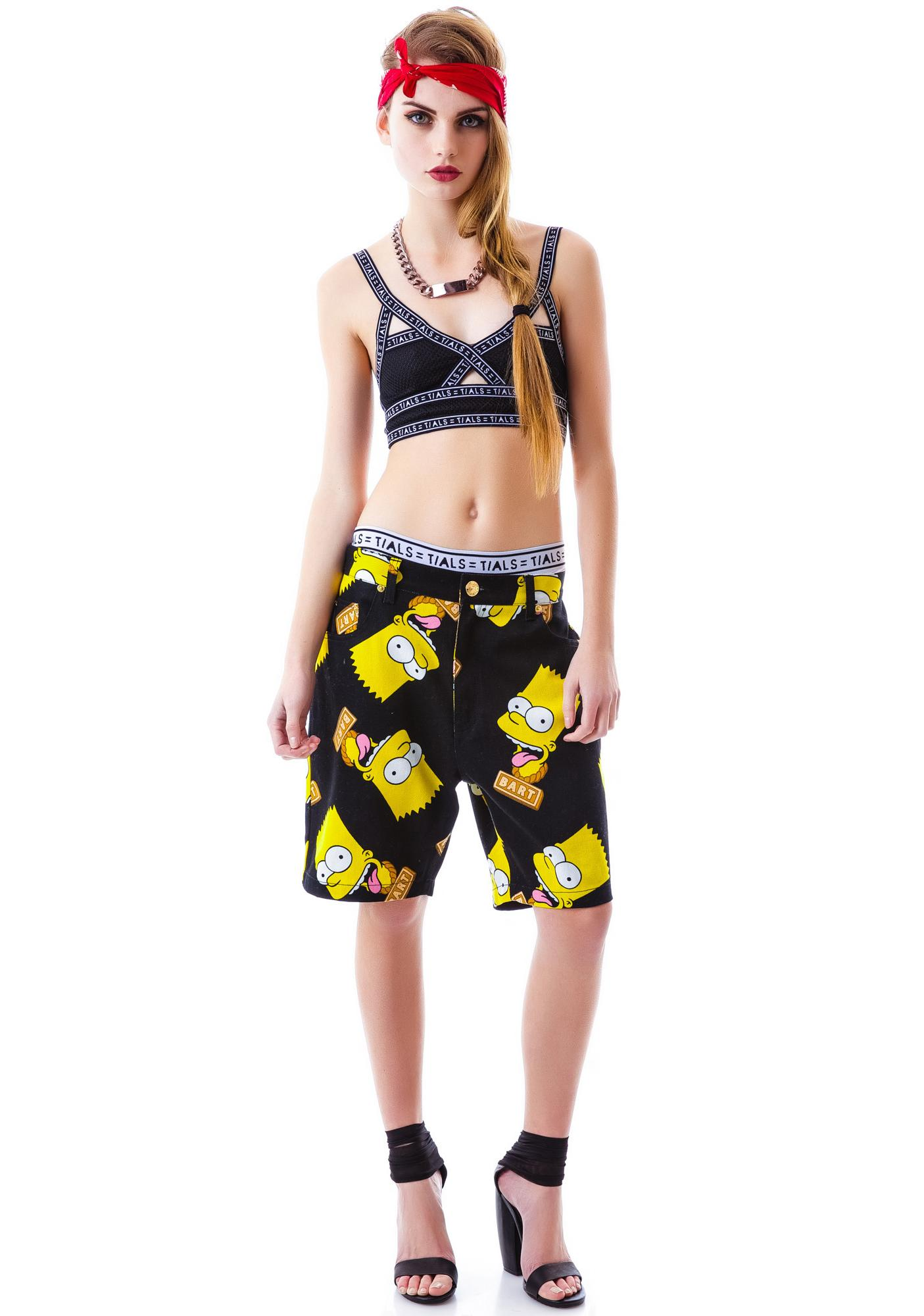 Joyrich Bart Face Shorts