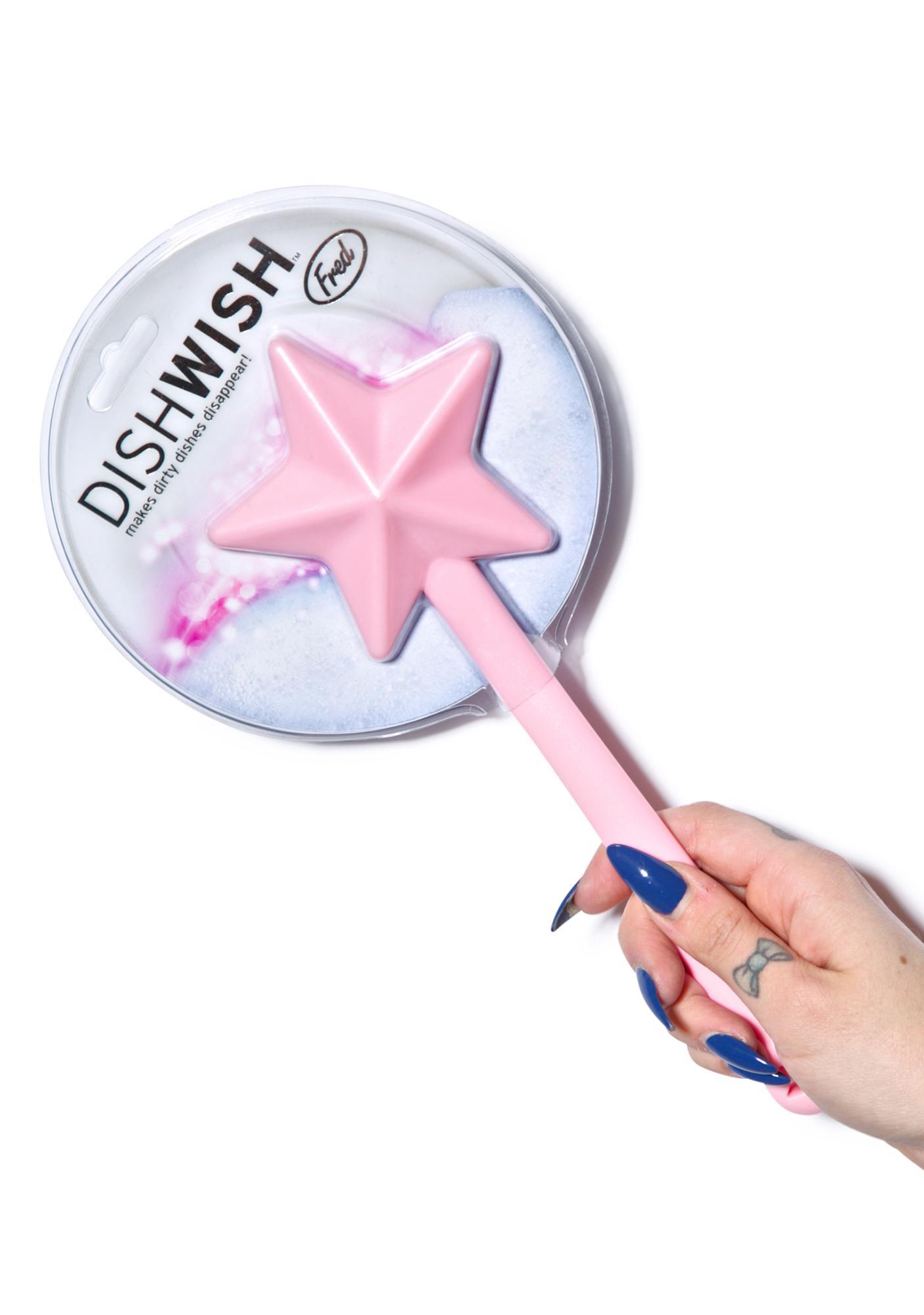 Dish Wish Star Wand Brush