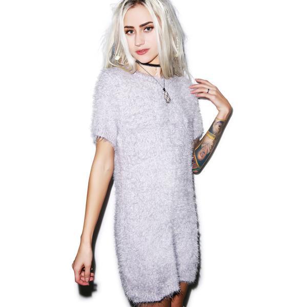 For Love & Lemons Snow Day Sweater Dress
