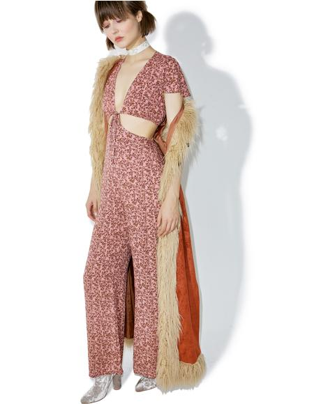 Honeysuckle Cutout Jumpsuit
