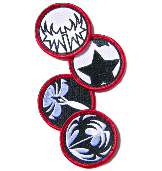 Rock N' Roll All Night Patch Set