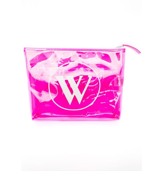 Wildfox Couture Wildfox Bel Air Vinyl Bikini Bag