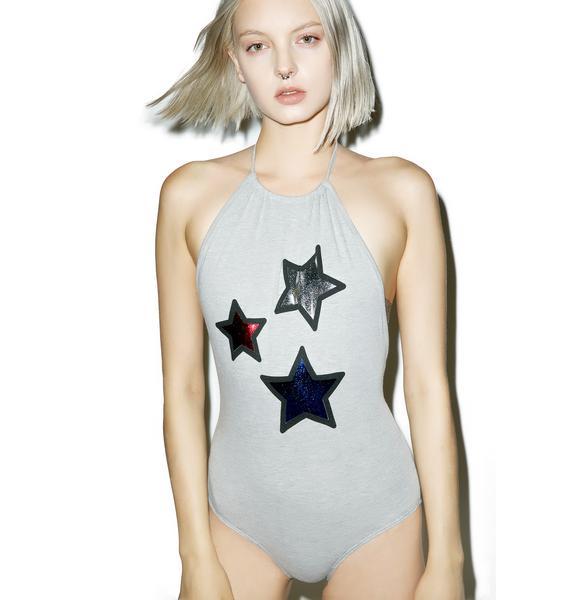 MeYouVersusLife Seeing Stars Bodysuit