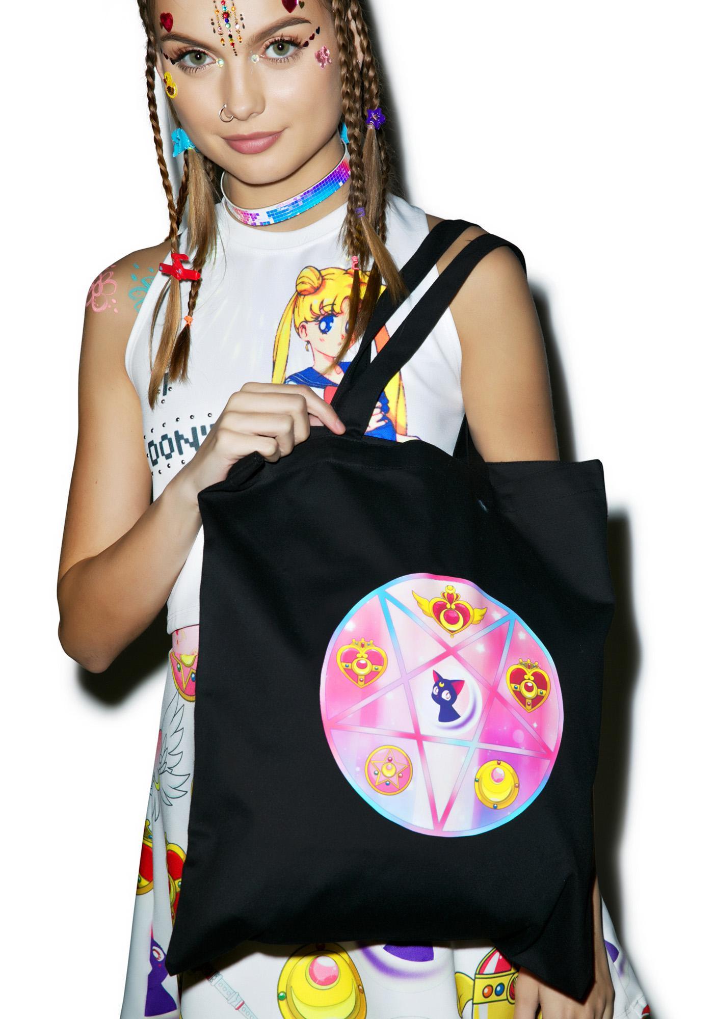Pentagram Sailor Tote Bag