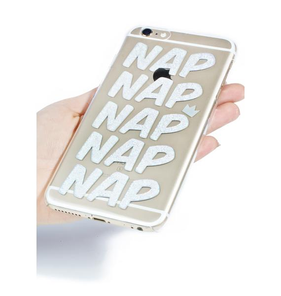 Skinnydip Nap Queen iPhone Case