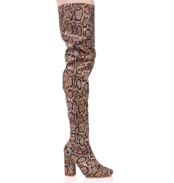 Viper Vixen Thigh-High Boots