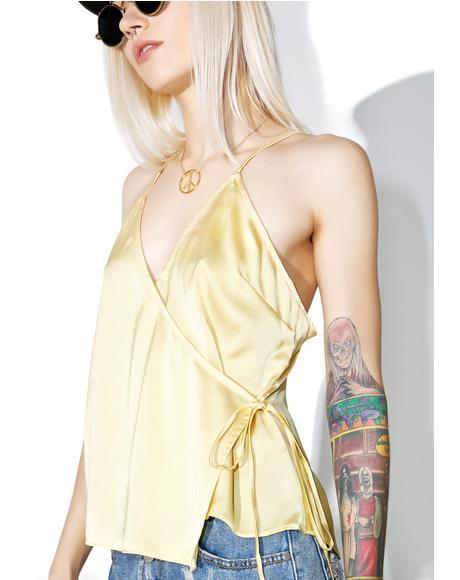 Golden Gurl Cami Top