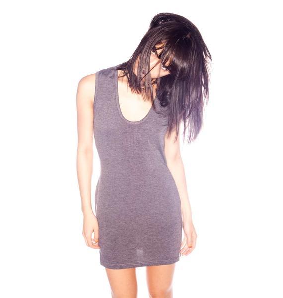 One Teaspoon Outlaw Zip Mini Dress