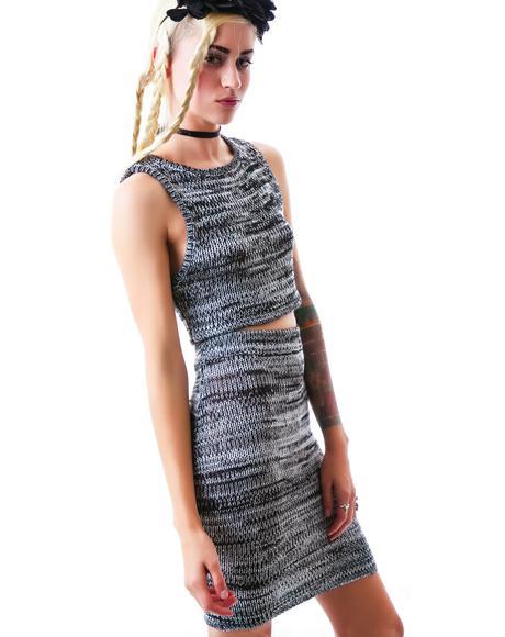 Sporty Knit Skirt