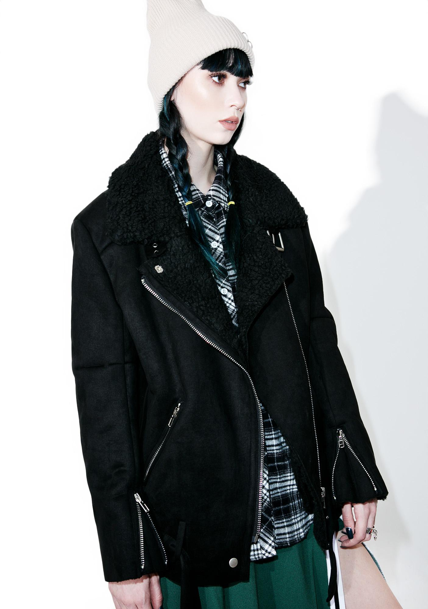 Jayden Faux Shearling Jacket