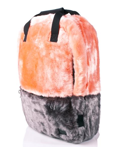 Faux Fur Coral OG Backpack