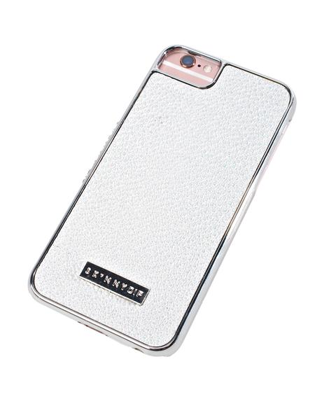 White Shimmer iPhone Case