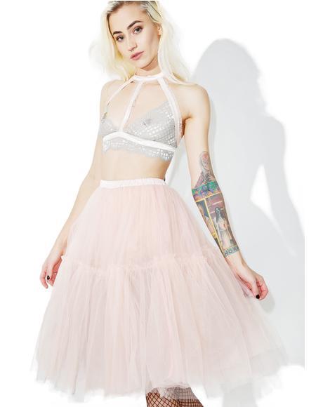 Palatial Sheer Maxi Skirt