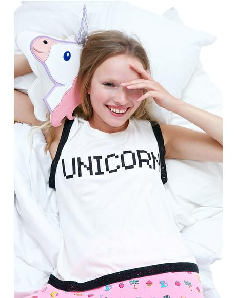 BFF Unicorn Barback Tank