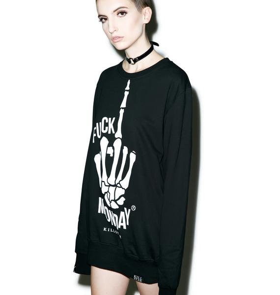 Killstar Monday Sweatshirt