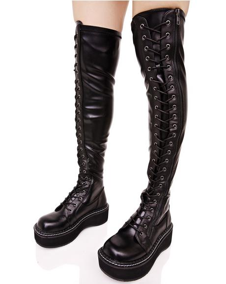 Hellraiser Lace-Up Boot