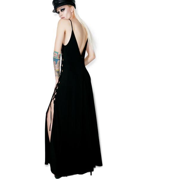 Glamorous Side Eye Maxi Dress