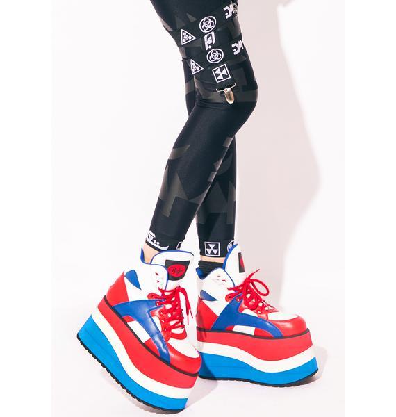 Buffalo X Dolls Kill Independence Bae Platform Sneakers