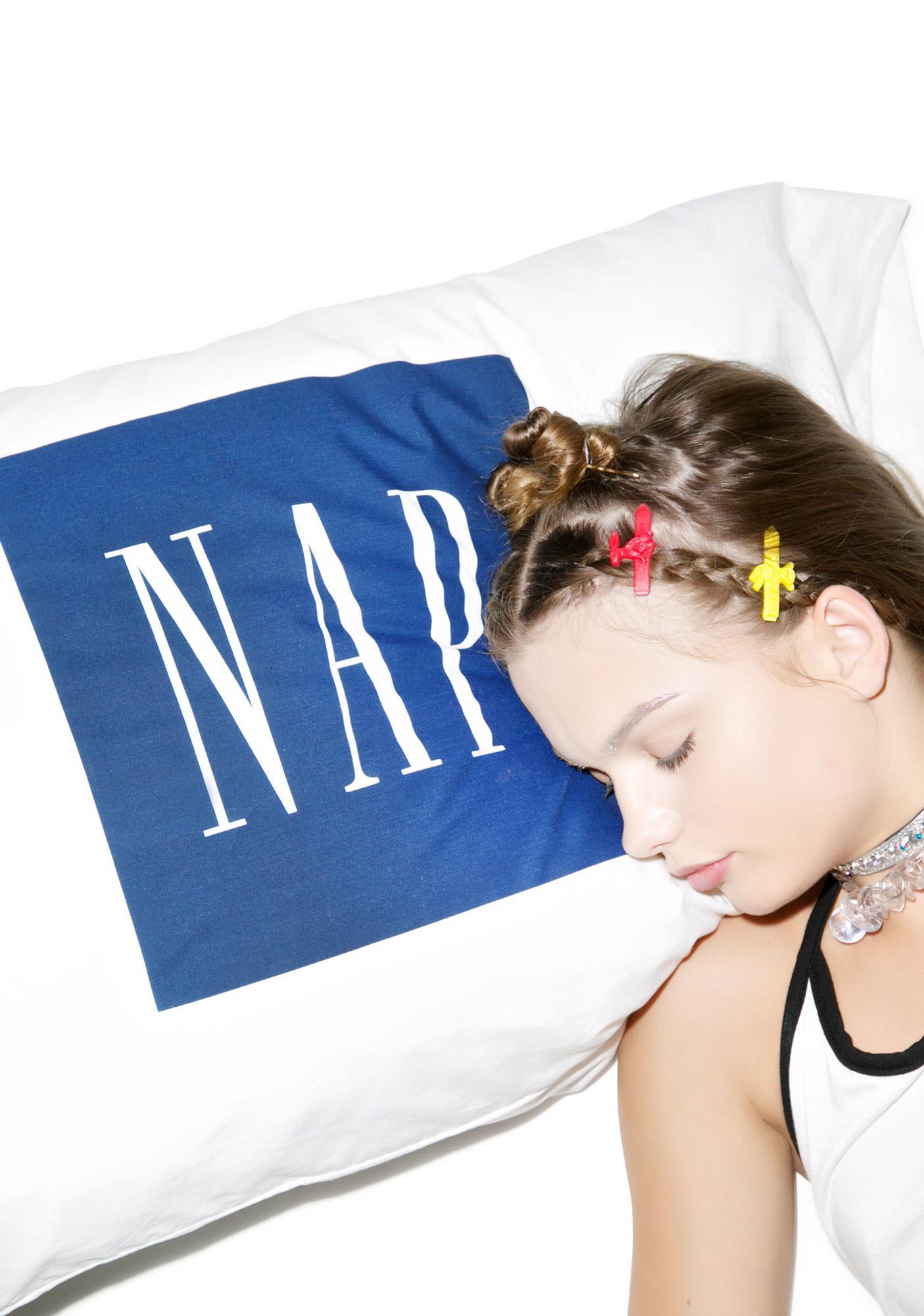 Petals and Peacocks Nap Pillowcase Set