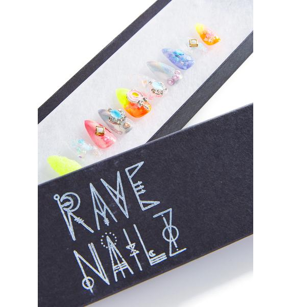 Rave Nailz Gem 'N Jewel Nail Set