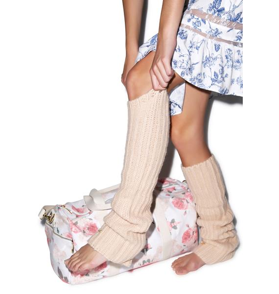 Wildfox Couture Loose Knit Leg Warmers