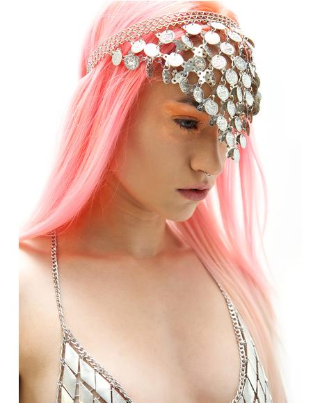 World Traveler Coin Headpiece