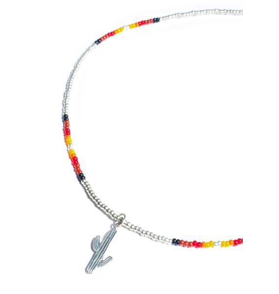 Fraiser Sterling Cactus Calling Necklace